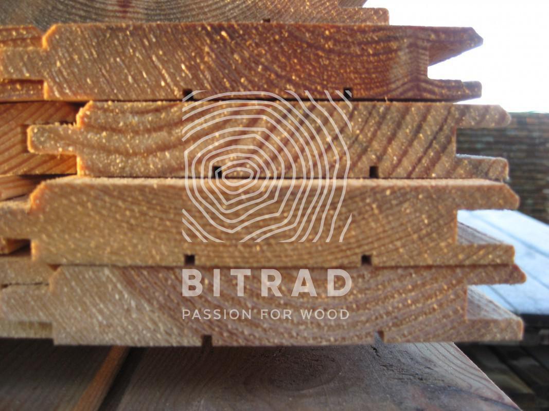Pali legno per recinzioni, perline per rivestimenti. PPHU Bitrad