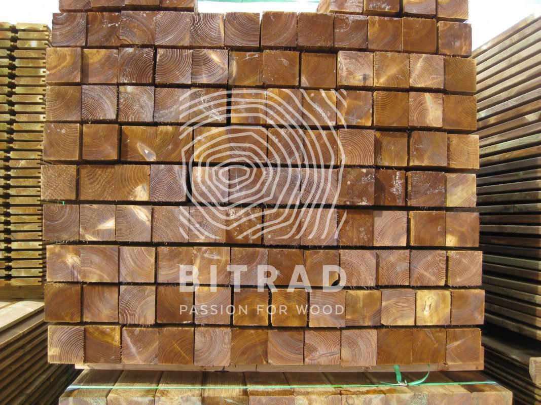 Legname grezzo, legno impregnato in autoclave. PPHU Bitrad